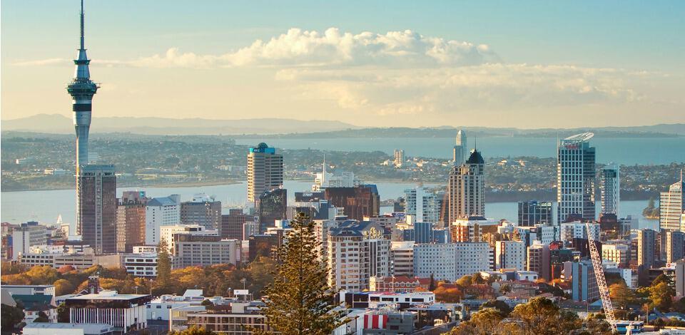 North Shore Aero Club - International Students - Photo of Auckland Skyline